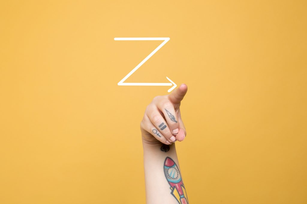 A ceged jovojet a Z generacio jelentheti